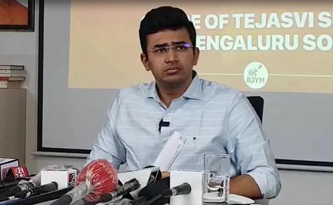 BJP's Tejasvi Surya Avoids Key Questions On Communal Slur In 'Bed Scam'