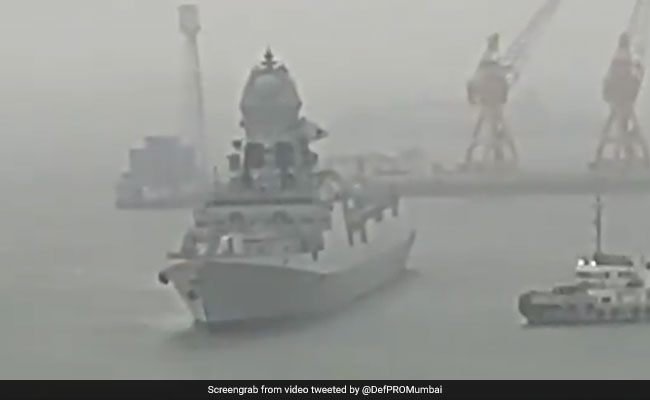 14 Dead, 97 Missing, Navy Rescue Ops On For Vessels That Ran Adrift