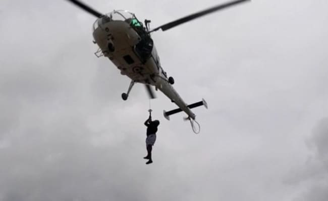 Navy, Coast Guard Rescue 317 On Barges, 390 Stranded Or Missing: Report