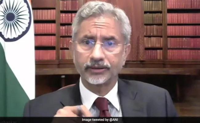 मजबूत भारत-अमेरिका स्वास्थ्य साझेदारी महामारी से लड़ने के लिए एक 'शक्तिशाली ताकत' हो सकती है: एस जयशंकर