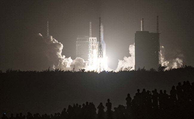 China Plays Down Concerns Over Rocket Debris Falling In Indian Ocean