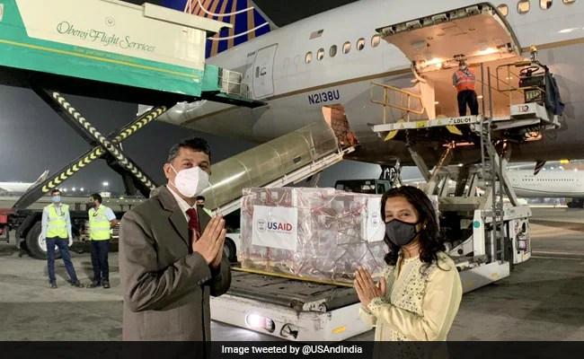अमेरिका ने भारत के लिए 1,25,000 रेमेडिसविर शीशियों का वितरण किया, 4 वाँ कोविद राहत पोत