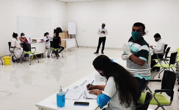 MG Motor India organised a free vaccination drive for its employees