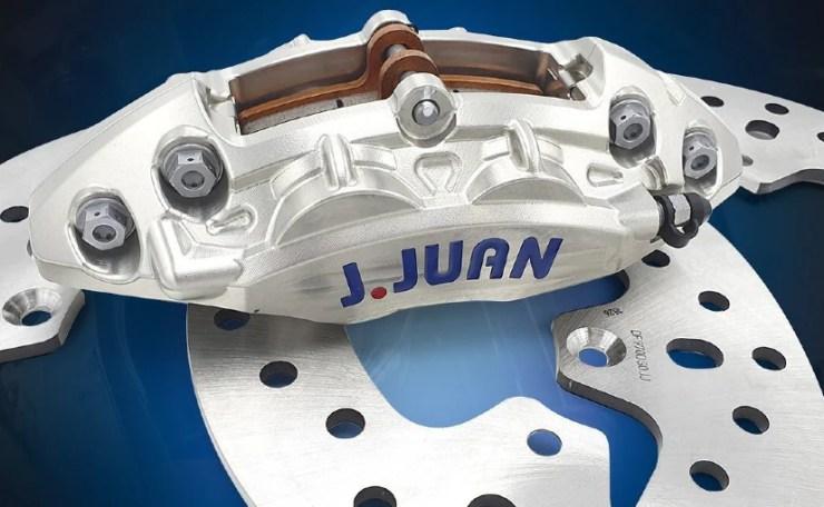 Italian braking systems brand Brembo is acuiring Spanish brake brand J Juan