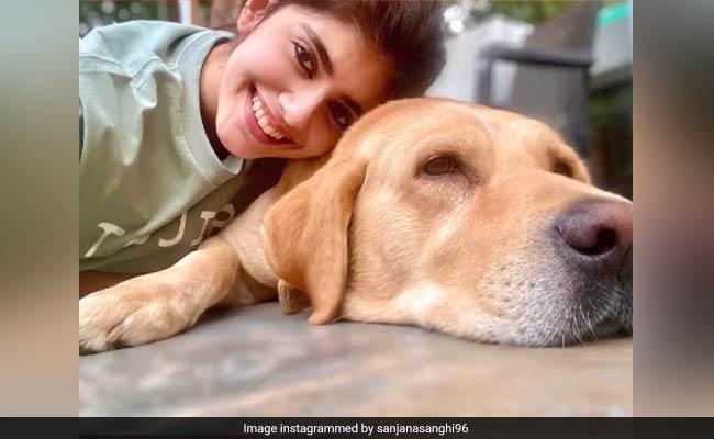Sanjana Sanghi?s ?Pranayama Mornings? Begin With Meditation And Dog Therapy