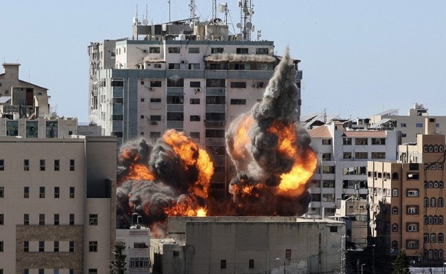 Israel Strikes Gaza Building With International Media Offices: Report