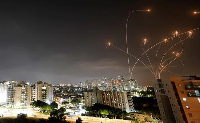 Israel Airstrikes Kill 20 In Gaza, Palestinians Say, After Militants Fire Rockets
