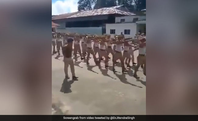 Watch: Nagaland Cops Parade On Bollywood Song. Minister Tweets, 'A Treat'