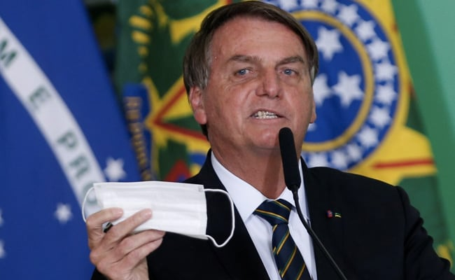 Brazil Plans To Allow Vaccinated People To Not Wear Masks: Jair Bolsonaro