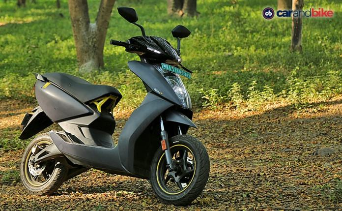 The Ather 450X won the 2021 carandbike Scooter of The Year