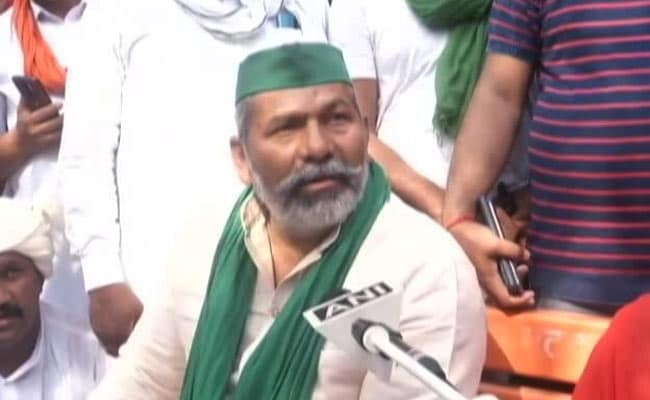 Farmer Leader Rakesh Tikait, Others Step Up Protest Against Arrests