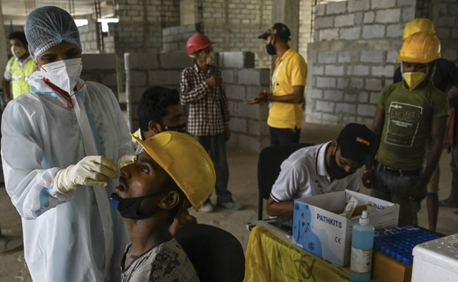 India Reports 91,702 Covid Cases, Slightly Fewer Than Yesterday; 3,403 Deaths