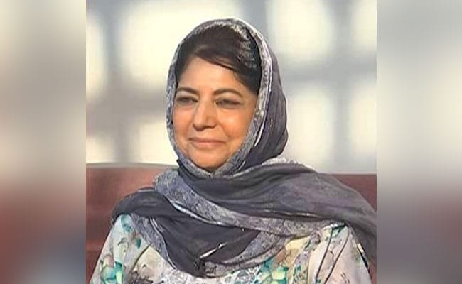 'Rather Than Using Threats And Sticks...': Mehbooba Mufti To BJP
