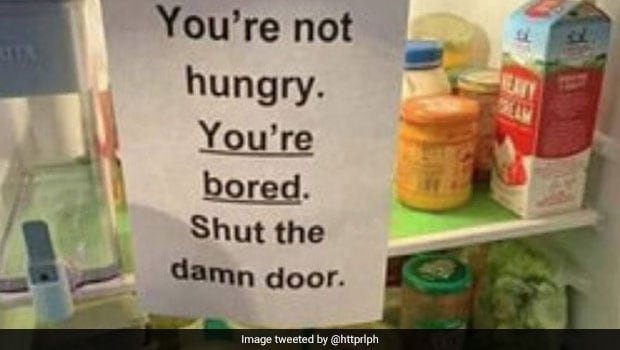 क्या आप अक्सर बिना किसी कारण के अपना फ्रिज खोलते हैं?  तब आप इस पोस्ट से संबंधित होंगे