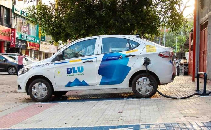 BluSmart currently operates only in Delhi-NCR