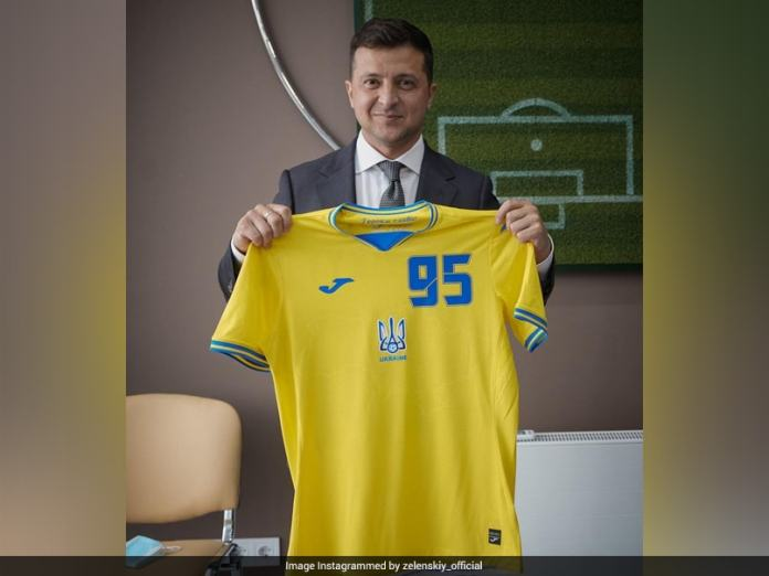 "UEFA Demands Ukraine Make Changes To ""Political"" Jersey |  Football News"
