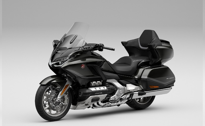 The 2021 Honda Gold Wing Tour is available with a 6-speed manual & a 7-speed DCT automatic