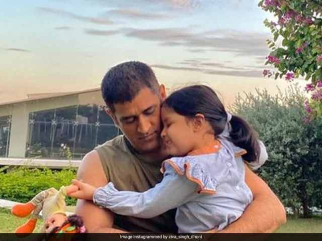 Ziva Dhonis Post With Horse Is