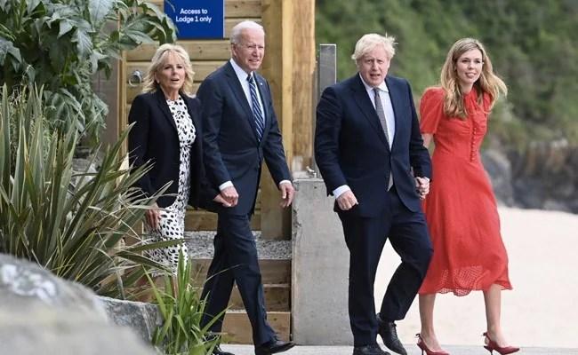 """Boris Johnson Hails Joe Biden As """"A Big Breath Of Fresh Air"""""""