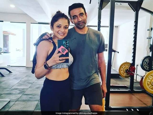 Robin Uthappa Sweats It Out In The Gym To Beat Lockdown Blues