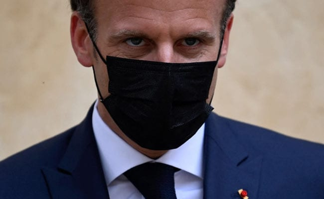 France's Macron Calls For Vaccine Makers To Donate 10% Of Doses