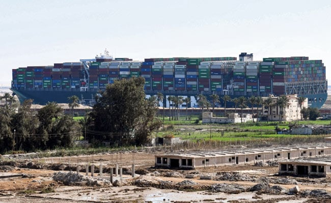 Giant Ship That Blocked Suez To Be Released On Wednesday: Canal Authority
