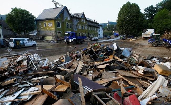 German Floods Cause Up To 5 Billion Euros In Insured Losses: Association