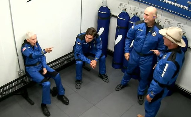Who's Who On Blue Origin's First Crewed Flight To Space