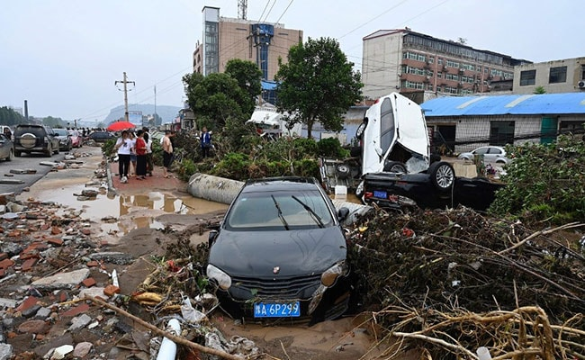 'Lost Everything': Tales Of Despair After China's Record Rains