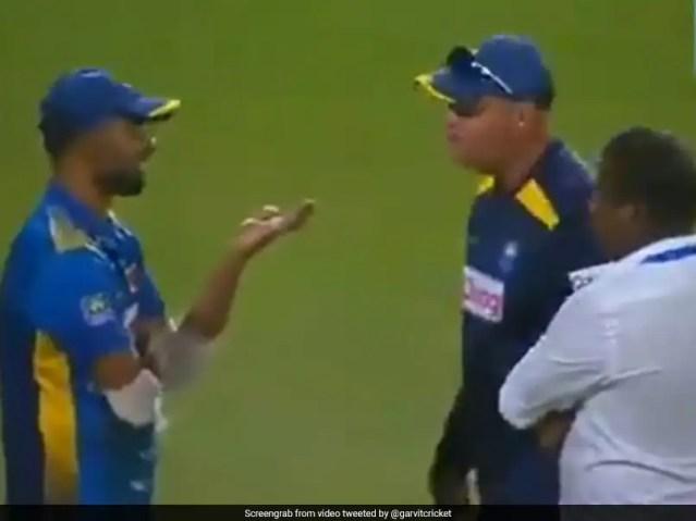 Sri Lanka vs India: Spat With Sri Lanka Captain Dasun Shanaka Was