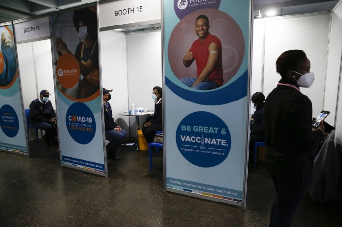 South Africa Extends Vaccinations To Under-50s Amid Covid Surge