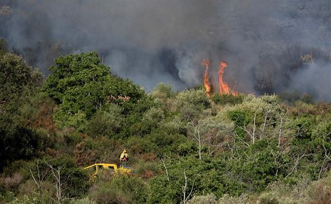 Hundreds Evacuated After Wildfire In Spain's Costa Brava