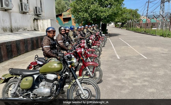 Army Organizes Motorcycle Rally To Mark 22 Years Of Kargil War Victory