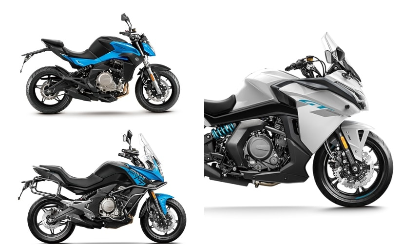The BS6 CFMoto 650 cc motorcycle range gets a price hike by up to Rs. 30,000 over the BS4 model