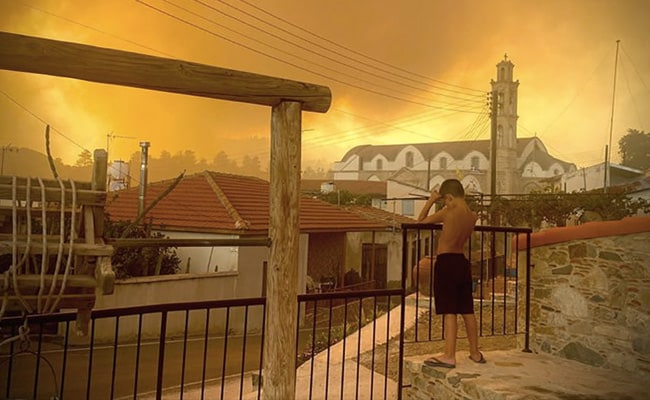 EU Deploys Assistance For Cyprus As Huge Forest Fire Rages