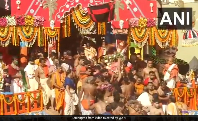 Puri Rath Yatra Begins, No Devotees For Second Year In A Row