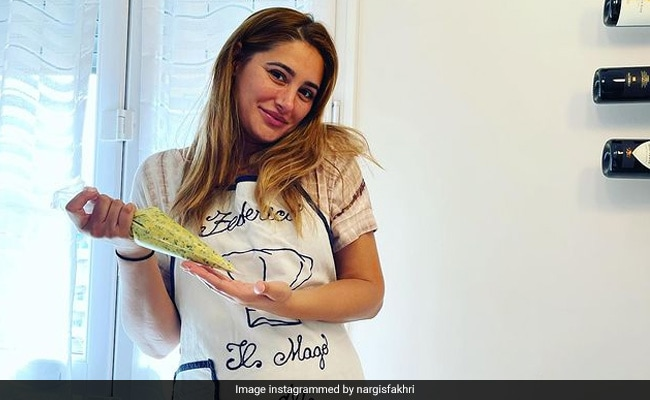 Nargis Fakhri Checks Off Making Pasta 'From Scratch' From Her Italy Vacation Wishlist. See Pics