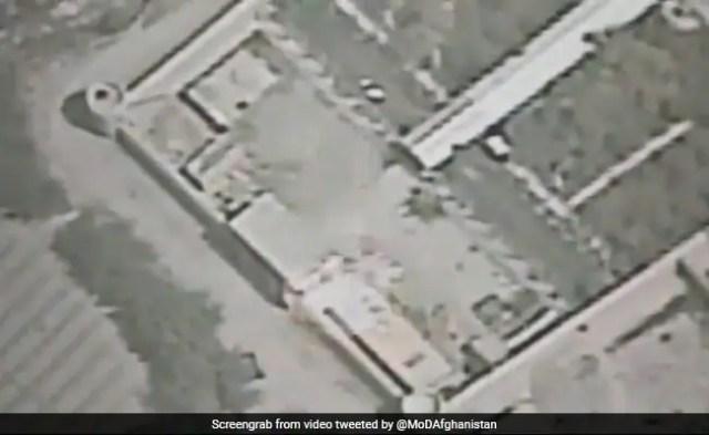 Video: Taliban Hideouts Destroyed In Afghanistan Airstrike