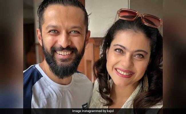 Trending: Kajol's Post For 'Birthday Partner' Vatsal Sheth