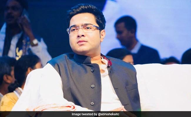 Mamata Banerjee's Nephew Faces BJP Protest In Tripura