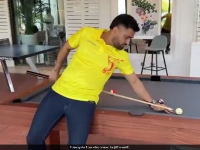 Watch: MS Dhoni, Other Chennai Super Kings Teammates Reach Dubai For IPL 2021 Resumption