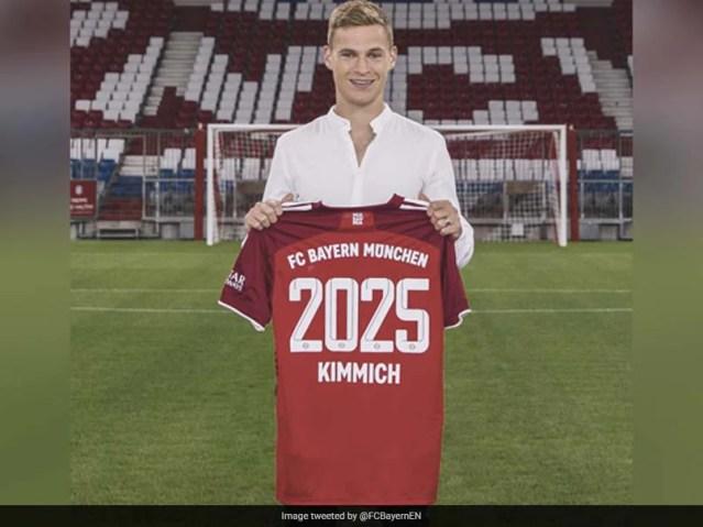 Joshua Kimmich Extends Stay At Bayern Munich Until 2025