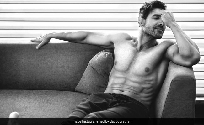John Abraham Is Both 'Incredibly Hot And Super Cool' In This Shot From Dabboo Ratnani's 2021 Calendar