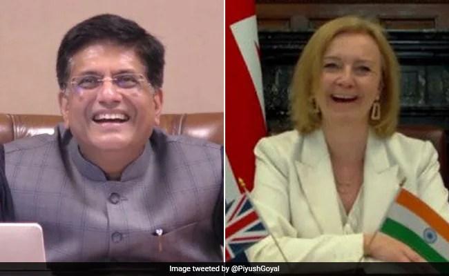 Piyush Goyal, UK Commerce Minister Agree On Next Steps For Trade Talks