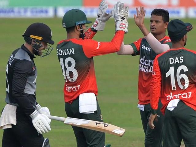 बांग्लादेश बनाम न्यूजीलैंड, पहला टी20ई: गेंदबाजों ने बांग्लादेश को न्यूजीलैंड पर पहली टी20 जीत का दावा करने में मदद की