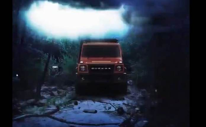 The pre-production version of the 2021 Force Gurkha was showcased at the 2020 Auto Expo