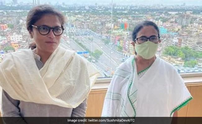 Trinamool Nominates Sushmita Dev to Rajya Sabha
