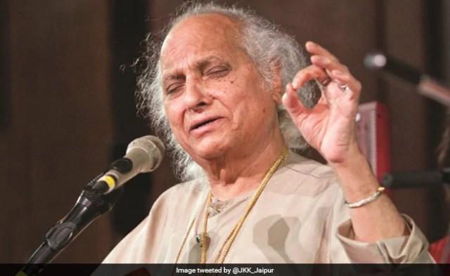 महान भारतीय शास्त्रीय गायक पंडित जसराज का 90 वर्ष की उम्र में निधन