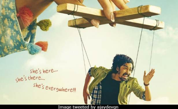 Helicopter Eela: Ajay Devgn Shares Poster Of Kajol's Next Film