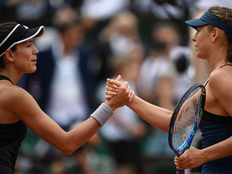 French Open 2018: Garbine Muguruza Condemns Maria Sharapova To Worst Slam Loss In Six Years